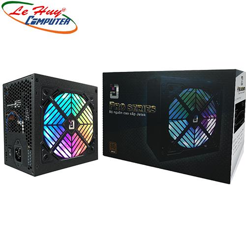 Nguồn máy tính Jetek P600 600W Led RGB