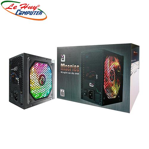 Nguồn máy tính Jetek M500 500W V2 Led RGB
