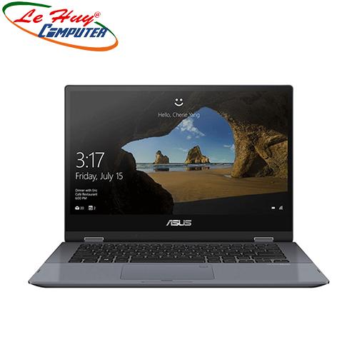Máy Tính Xách Tay/Laptop Asus VivoBook TP412FA-EC609T (i5 10210U/8GB RAM/512GB SSD/14 Touch FHD/Win10/Bút/Xám)