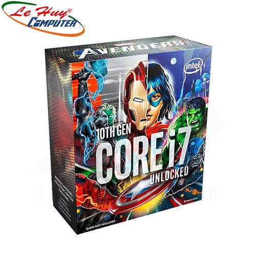 CPU Intel Core i7-10700KA Avengers Edition / 16MB / 3.8GHz / 8 Nhân 16 Luồng / LGA 1200