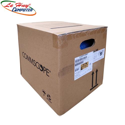 Cable AMP Cat 6 UTP 1427071-6 305m màu xanh