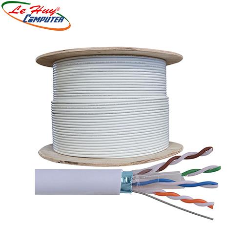 Cable AMP CAT6A FTP 884024508/10 305m màu trắng
