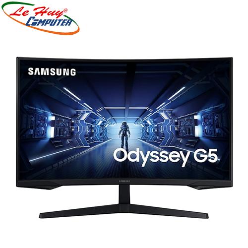 Màn Hình Cong Samsung Odyssey G5 LC32G55TQWEXXV 32Inch WQHD 2K 144Hz 1ms HDR10 Freesync