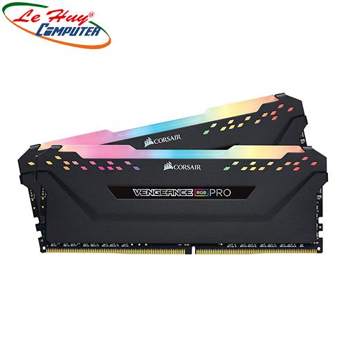 Ram Máy Tính Corsair Vengeance RGB Pro 32GB 3200Mhz DDR4 (2x16GB) CMW32GX4M2E3200C16
