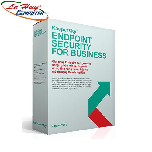 Phần mềm diệt virus Kaspersky Endpoint Security cho Doanh nghiệp (1 năm)