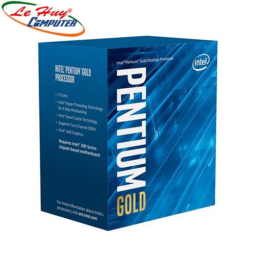 CPU Intel Pentium Gold G5400 (3.7GHz, 2 nhân 4 luồng, 4MB Cache, 58W) Box Chính Hãng
