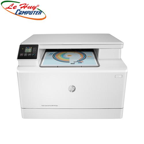 Máy in laser màu đa chức năng HP Pro MFP M182n (7KW54A) (Print/ Copy/ Scan / In mạng)