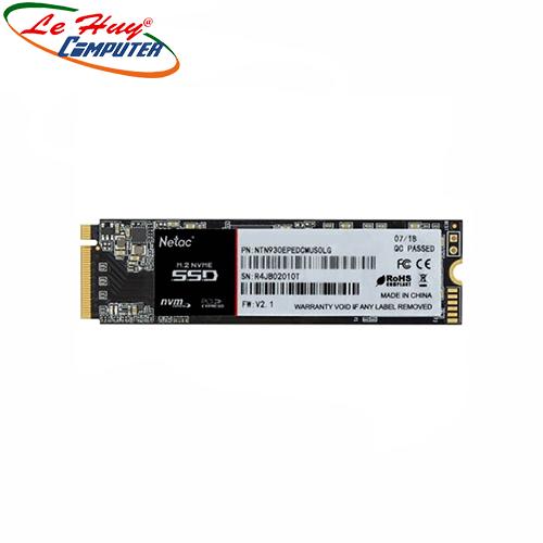 Ổ cứng SSD Netac 256GB N930E M.2 NVMe PCIe