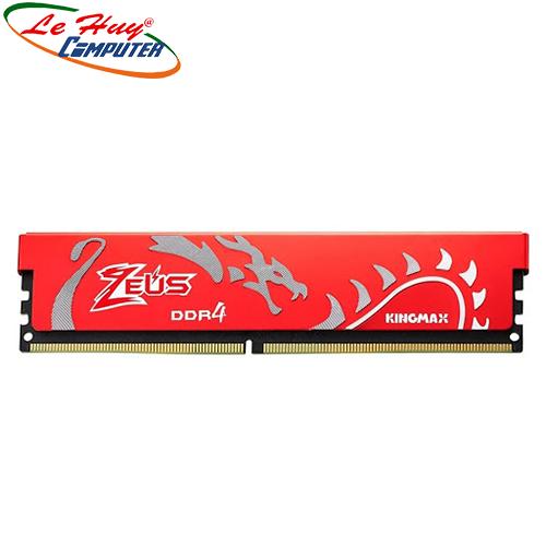 Ram Máy Tính Kingmax 8GB DDR4 2666 Heatsink zerus Chính hãng