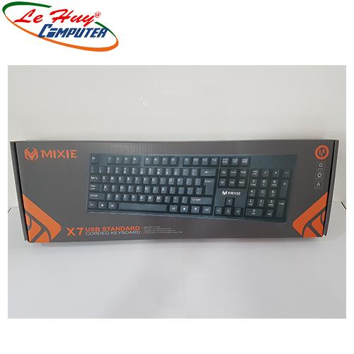 Bàn phím máy tính MIXIE X7 USB