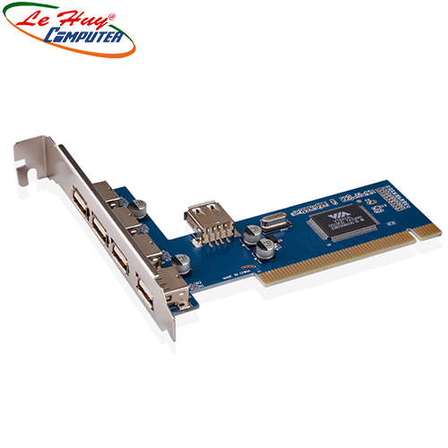 Card PCI->4 USB  Dtech(PC0016C)