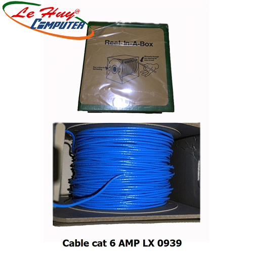 Cable AMP CAT6 LX - 0939 (Cuộn) 305m