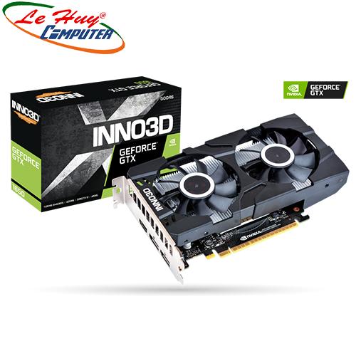 Card màn hình - VGA INNO3D 1650 TWIN X2 OC 4GB GDDR6