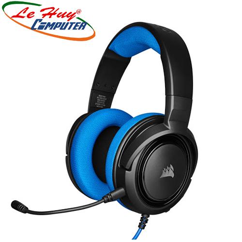 Tai nghe Corsair HS35 Stereo Blue (CA-9011196-AP)