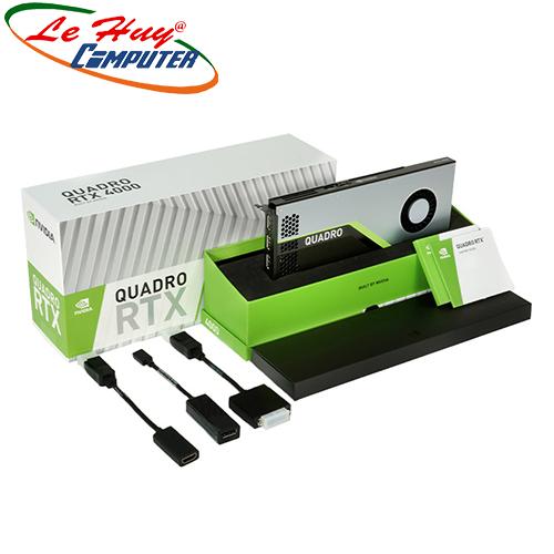 Card Màn Hình - VGA Card LEADTEK nVidia Quadro RTX4000 8GB Box màu