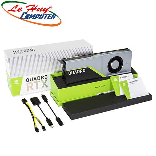 Card Màn Hình - VGA Card LEADTEK nVidia Quadro RTX5000 16GB Box màu