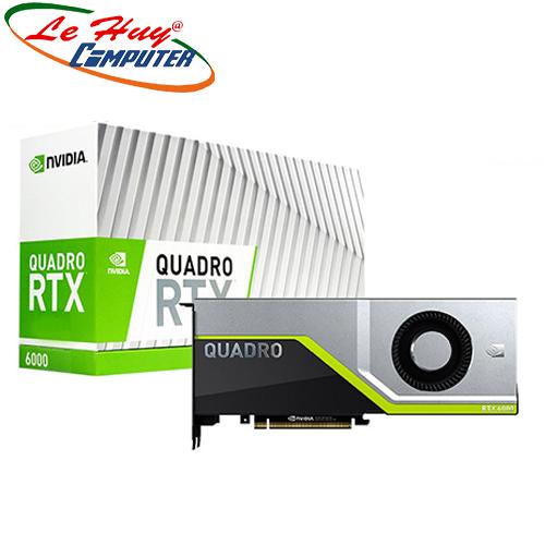 Card Màn Hình - VGA Card LEADTEK nVidia Quadro RTX6000 24GB Box màu