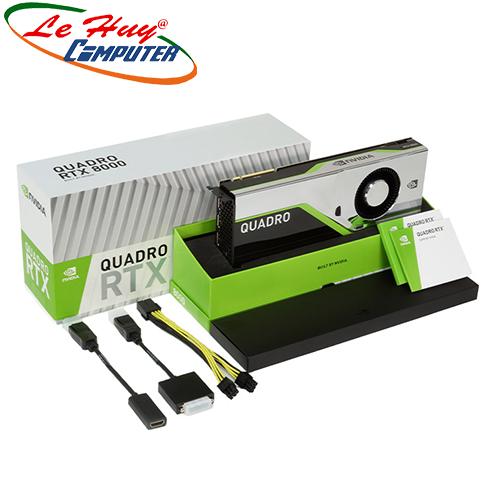 Card Màn Hình - VGA Card LEADTEK nVidia Quadro RTX8000 48GB Box màu