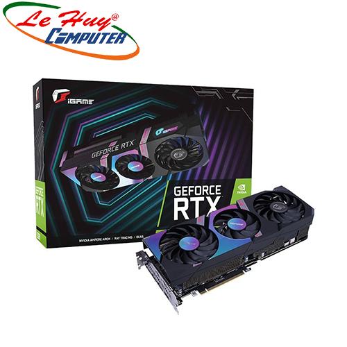 Card Màn Hình - VGA COLORFUL iGame GeForce RTX 3070 Ultra OC-V 8G