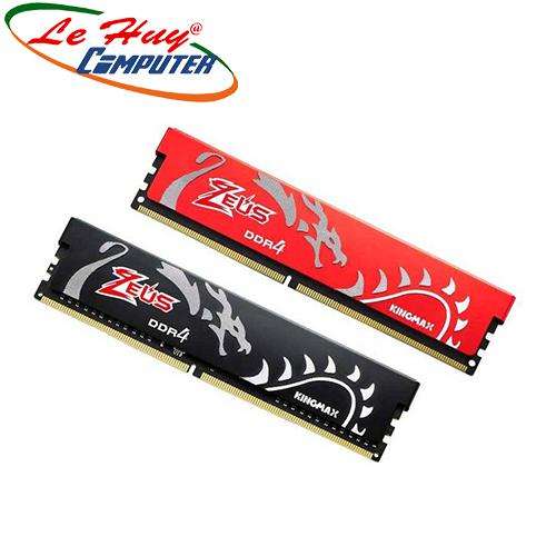 Ram Máy Tính Kingmax ZEUS DRAGON 4GB DDR4 2400 CTY BH 3 năm