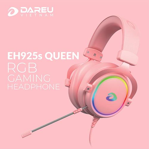 Tai nghe DareU EH925s Queen RGB 7.1(HỒNG)