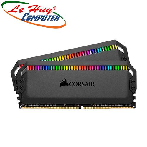 Ram Máy Tính Corsair Dominator Platinum RGB 32GB 3000Mhz DDR4 (2x16GB) CMT32GX4M2C3000C15