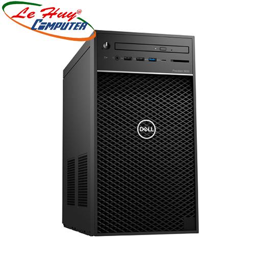 Máy tính để bàn/PC Dell Precision 3630 Tower (i7-8700/8GB (2x8GB) RAM/1TB HDD/VGA P620 2GB/DVDRW/Key/Mouse)