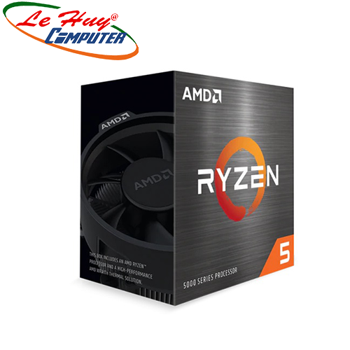 CPU AMD Ryzen 5 5600X (3.7 GHz (4.6GHz Max Boost) / 35MB Cache / 6 cores, 12 threads / 65W / Socket AM4)