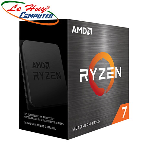 CPU AMD Ryzen 7 5800X (3.8 GHz (4.7GHz Max Boost) / 36MB Cache / 8 cores, 16 threads / 105W / Socket AM4)