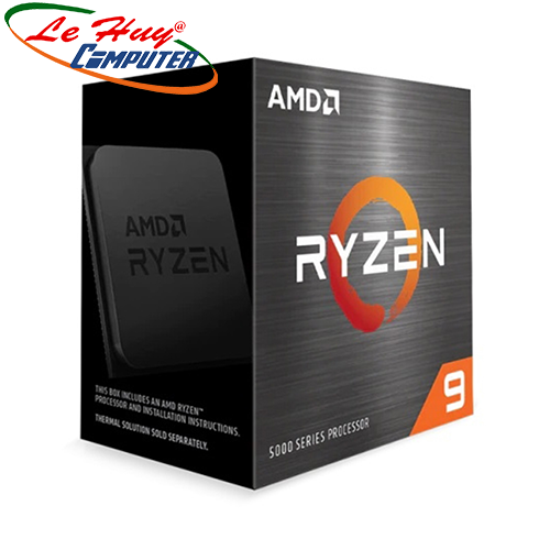 CPU AMD Ryzen 9 5900X (3.7 GHz (4.8GHz Max Boost) / 70MB Cache / 12 cores, 24 threads / 105W / Socket AM4)