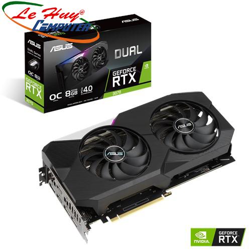 Card màn hình - VGA ASUS DUAL GeForce RTX 3070 O8G (DUAL-RTX3070-O8G)