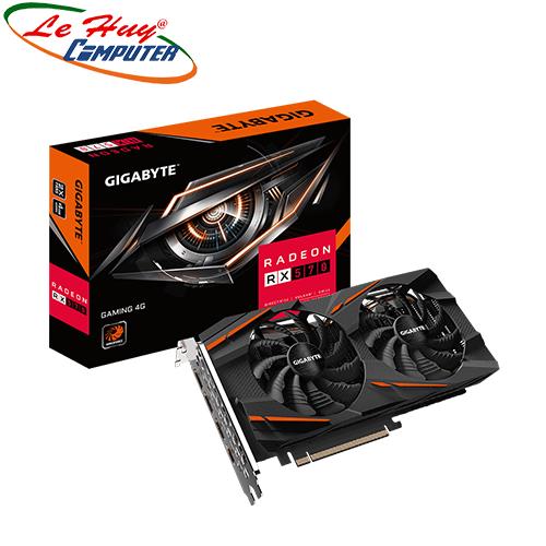 Card Màn Hình - VGA GIGABYTE Radeon RX 570 GAMING 4G (GV-RX570GAMING-4GD)