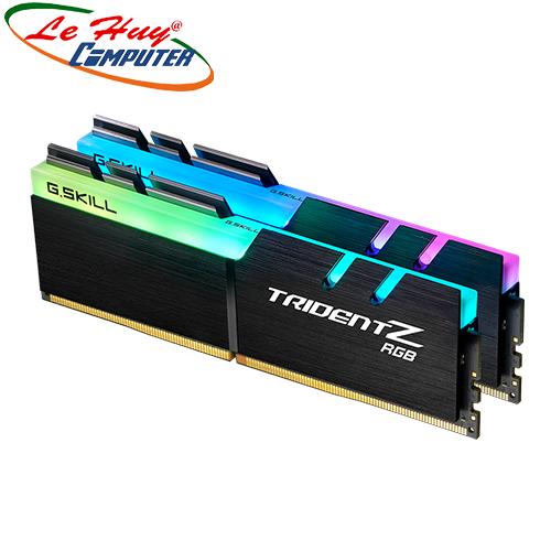 Ram Máy Tính GSKILL Trident Z RGB 32GB (16GBx2) 3200Mhz DDR4 F4-3200C16D-32GTZR