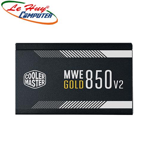 Nguồn máy tính Cooler Master MWE GOLD 850 - V2 850W Full Modular