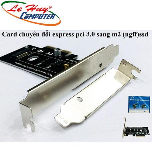 Card chuyển đổi Express pci 3.0 sang m2 (ngff) SSD