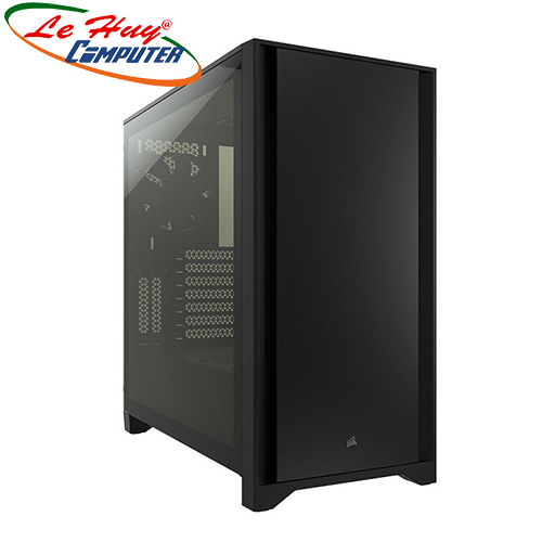 Vỏ máy tính Corsair 4000D Tempered Glass Black (CC-9011198-WW)