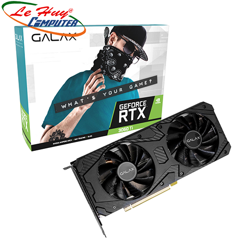 Card Màn Hình - VGA GALAX GeForce RTX 3060 Ti (1-Click OC) 8GB GDDR6