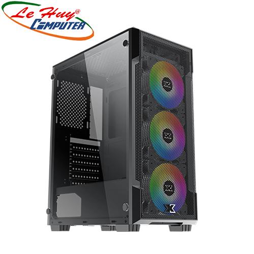 Vỏ máy tính XIGMATEK VENTUS 3FC (EN46126) - KÈM 03 FAN XIGMATEK X20C RGB