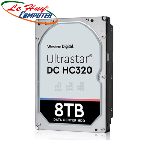 Ổ Cứng HDD ENTERPRISE WD ULTRASTAR DC HC320 8TB, 3.5
