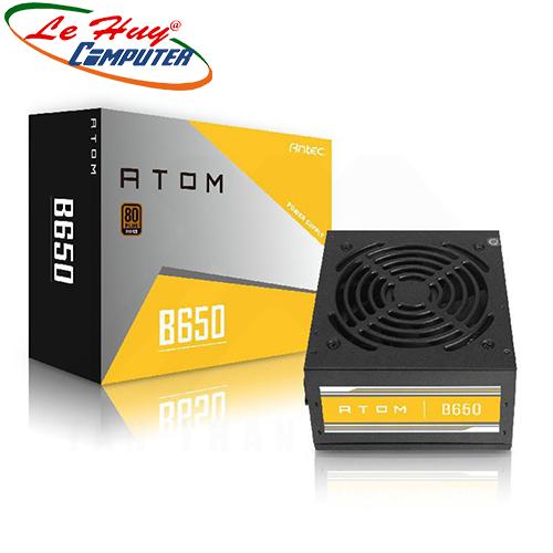Nguồn máy tính ANTEC ATOM B650 650W - 80 PLUS BRONZE