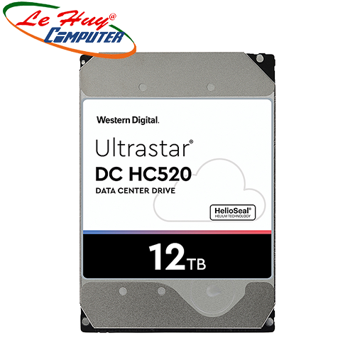 Ổ Cứng HDD ENTERPRISE WD Ultrastar DC HC520 12TB 7200rpm 6Gbs SATA 3.5Inch - HUH721212ALE604