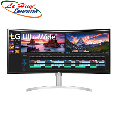 Màn hình cong LCD LG 38WN95C-W 38 inch UltraWide QHD+ IPS Curved 144Hz