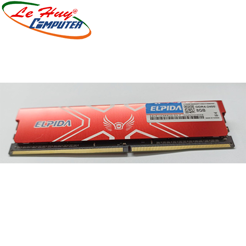 Ram Máy Tính ELPIDA 4GB 2400Mhz DDR4 Tản Nhiệt