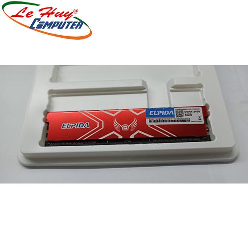 Ram Máy Tính ELPIDA 8GB 2400Mhz DDR4 Tản Nhiệt
