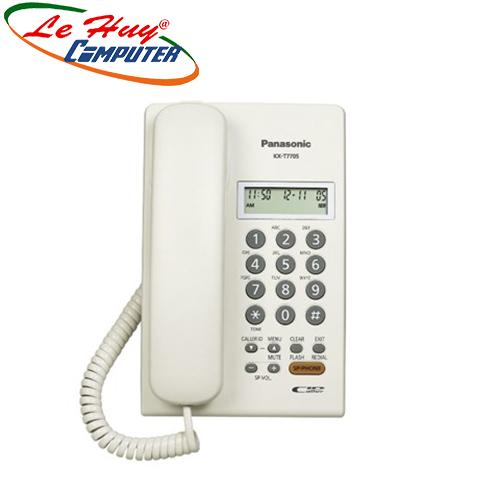 Điện thoại bàn Panasonic KXT 7705X (Trắng)