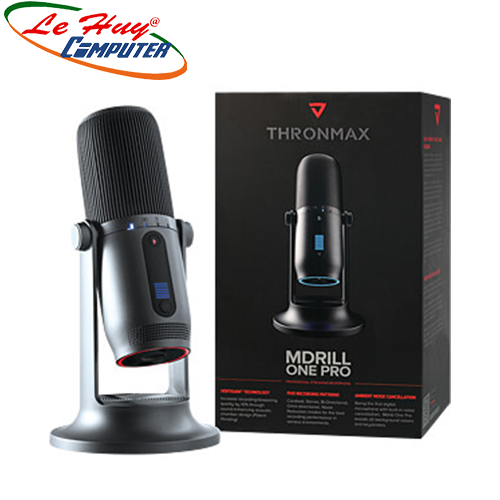 Microphone Thronmax Mdrill One Pro M2P JET (Đen/Xám)