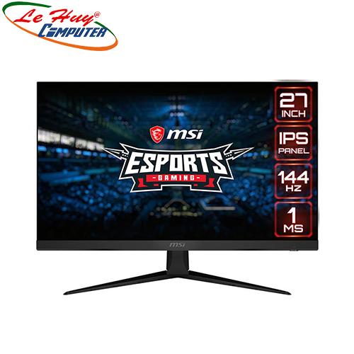 Màn hình cong LCD Gaming MSI Optix G271 IPS FullHD 144Hz