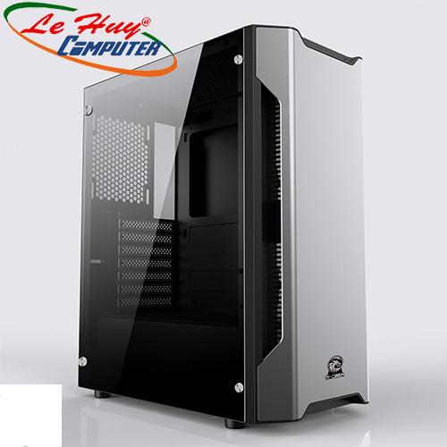 Vỏ thùng máy tính E-dra Da Vinci - Led RGB (ECS1401)