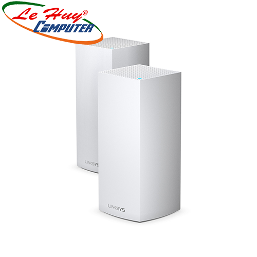 Thiết bị mạng - Router Linksys VELOP MX8400-AH TRI-BAND AX4200 INTELLIGENT MESH WIFI SYSTEM WIFI 6 MU-MIMO SYSTEM 2-PK