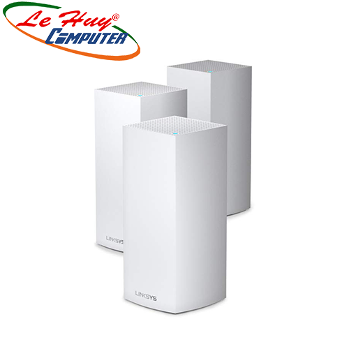 Thiết bị mạng - Router Linksys VELOP MX12600-AH TRI-BAND AX4200 INTELLIGENT MESH WIFI SYSTEM WIFI 6 MU-MIMO SYSTEM 3-PK